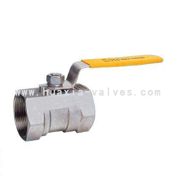 1 pc ball valve stainless steel threaded end