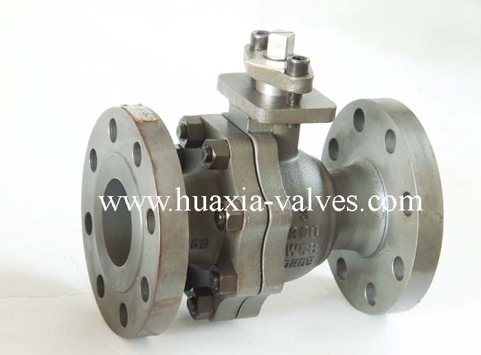 2PC Class 300 Reduce Bore Floating Ball Valve