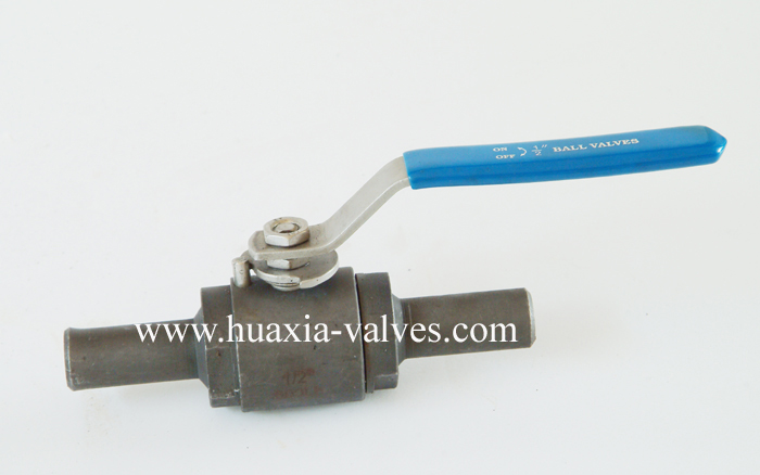 2PC Extend Thread forged Ball Valve