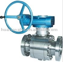 3 PC Forged Body Trunnion Mounted ball valves