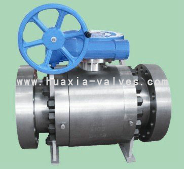 3PC BODY FLOATING TYPE FLANGE END BALL VALVE
