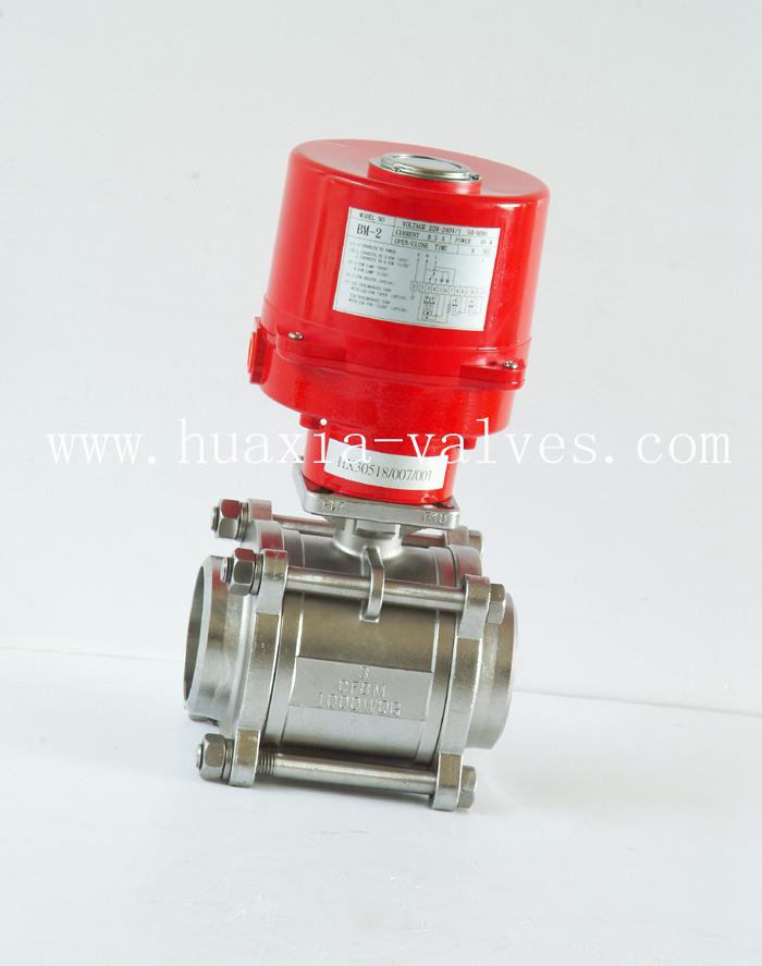 3PC Full Bore 1000PSI Thread Ball Valve