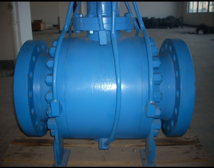 600LB Flange Trunnion Type Ball Valve