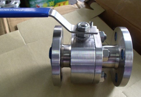 Flange ball valves