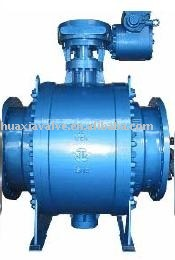 Trunnion Support ball valve