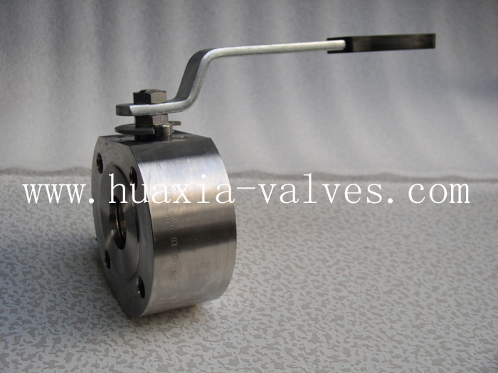 forged Wafer type Ball Valve