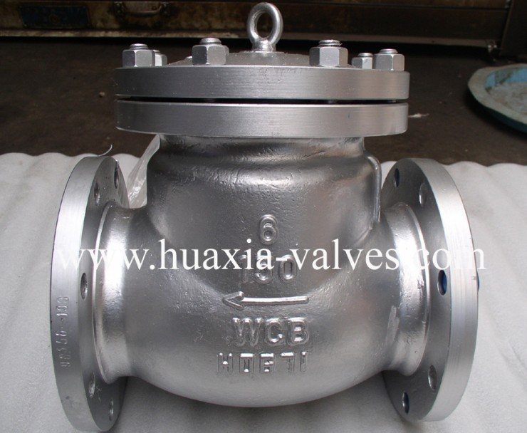 API Stainless Steel Flange Swing Check Valve