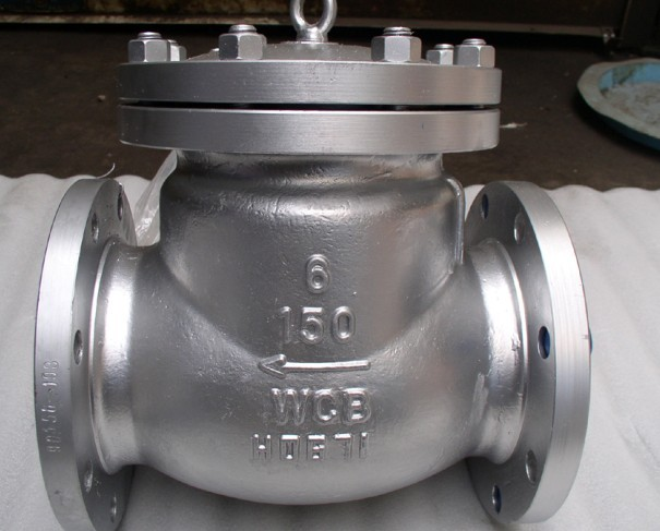 Amercican standard forged flanged end check valve