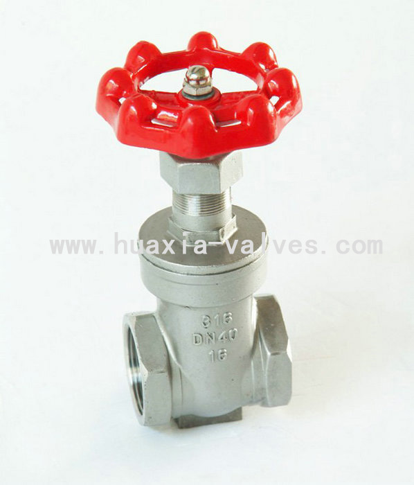 FULL BORE 200PSI STAINLESS STEEL GATE VALVE
