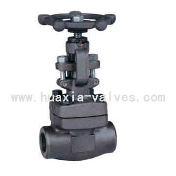 threaded forged Globe valve